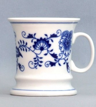 Zwiebelmuster Mug EMPEROR 0.24L, Original Bohemia Porcelain from Dubi