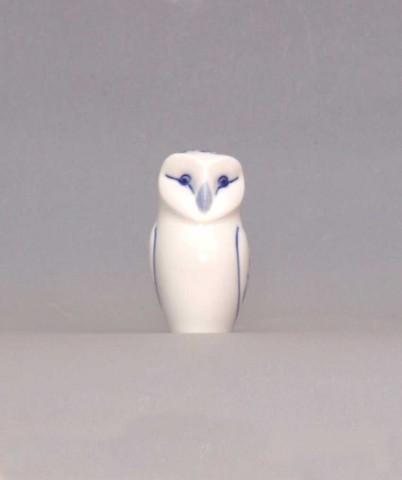 Zwiebelmuster Owl 7.6cm, Original Bohemia Porcelain from Dubi