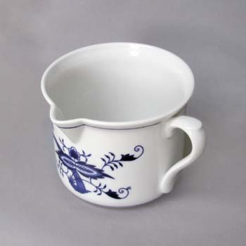 Zwiebelmuster Mug Varak with Handle and Beak,Original Bohemia Porcelain from Dubi