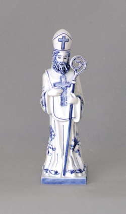 Zwiebelmuster Nikolaus 26cm, Original Bohemia Porcelain from Dubi