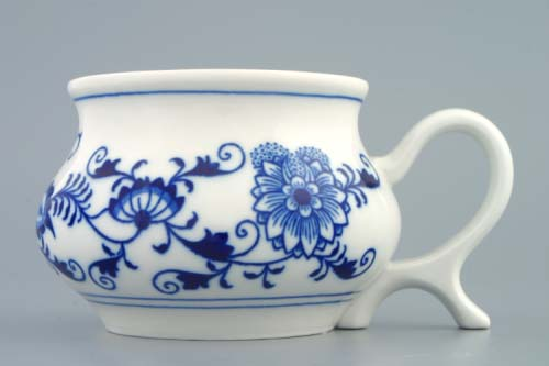 Zwiebelmuster Mug Joe 0.48L, Original Bohemia Porcelain from Dubi