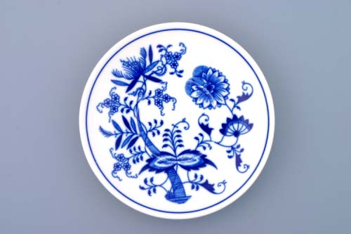 Zwiebelmuster Saucer Banak, Original Bohemia Porcelain from Dubi