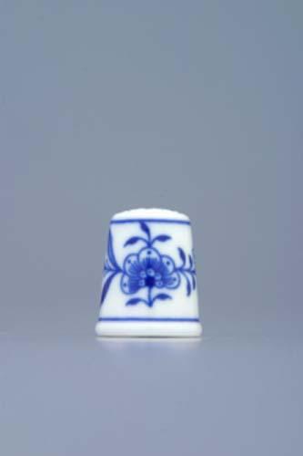 Zwiebelmuster Thimble 2.7cm, Original Bohemia Porcelain from Dubi
