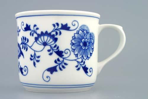 Zwiebelmuster Cook Mug, Original Bohemia Porcelain from Dubi