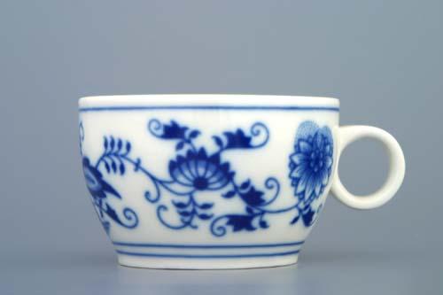 Zwiebelmuster Cup AERO 0.13L, Original Bohemia Porcelain from Dubi