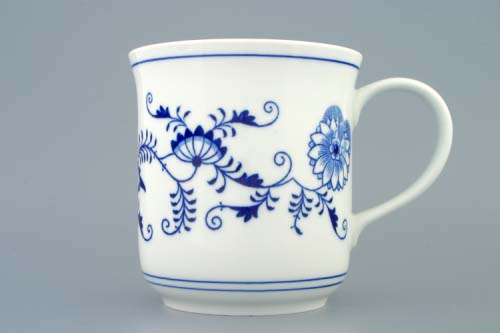 Zwiebelmuster Mug Golem 1.5L, Original Bohemia Porcelain from Dubi