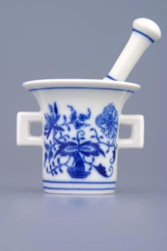 Zwiebelmuster Mini Mortar 5.8cm, Original Bohemia Porcelain fromDubi