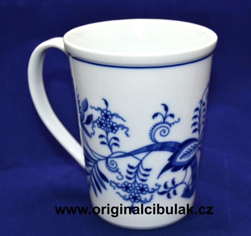 Zwiebelmuster Mug Erin M 0.42L, Original Bohemia Porcelain from Dubi