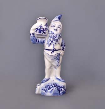 Zwiebelmuster Dwarf Jaroslav 19cm, Original Bohemia Porcelain from Dubi
