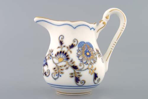 Zwiebelmuster Milchkanne hoch zwiebelmuster vergoldet Bohemia Porzellan aus Dubi
