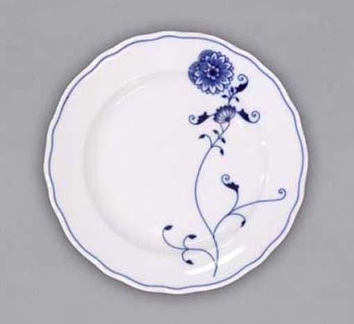Eco Zwiebelmuster Flat Dessert Plate19cm, Bohemia Porcelain from Dubi