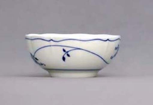 Eco Zwiebelmuster Creamsoup Cup no Handles, l Bohemia Porcelain from Dubi