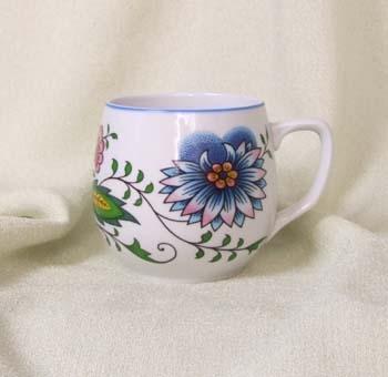 Nature Zwiebelmuster Mug Banak, Bohemia Porcelain from Dubi