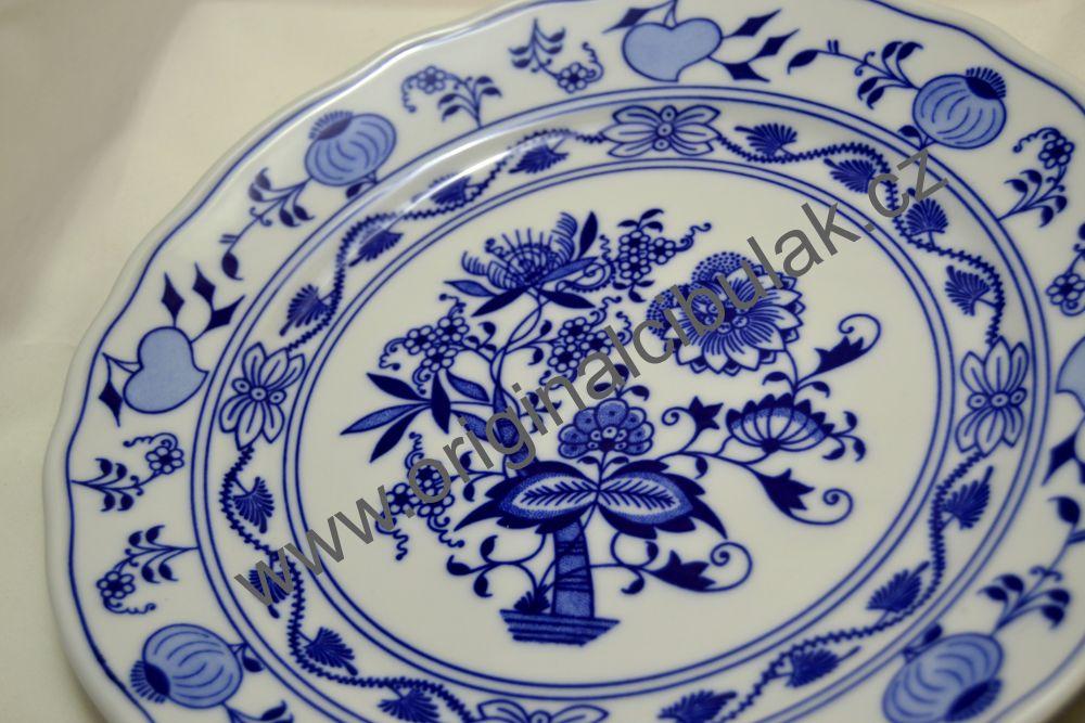 blau Zwiebelmuster Speiseteller 25 cm in blau