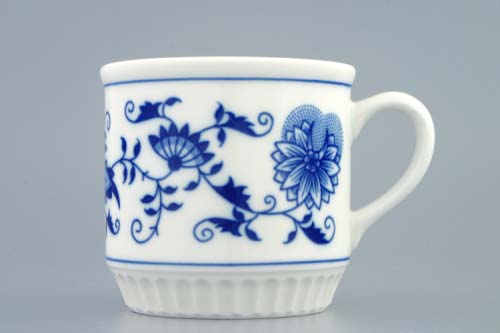 Zwiebelmuster Mug Leo 0.30L, Original Bohemia Porcelain from Dubi
