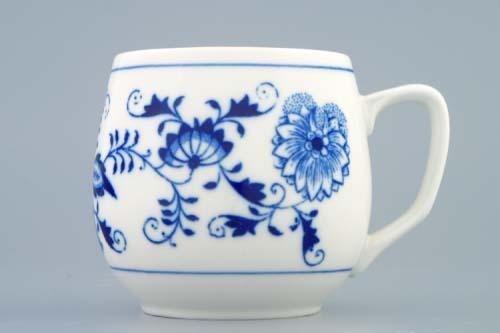 Zwiebelmuster Kaffeebecher Banak Original Bohemia Porzellan aus Dubi