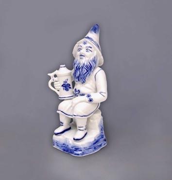 Zwiebelmuster Dwarf Mita 16cm, Original Bohemia Porcelain from Dubi