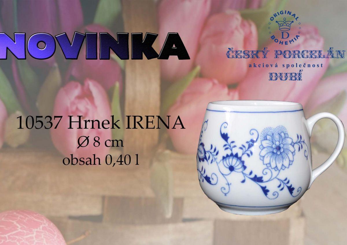 Zwiebelmuster Kaffeebecher Irena Original Bohemia Porzellan aus Dubi
