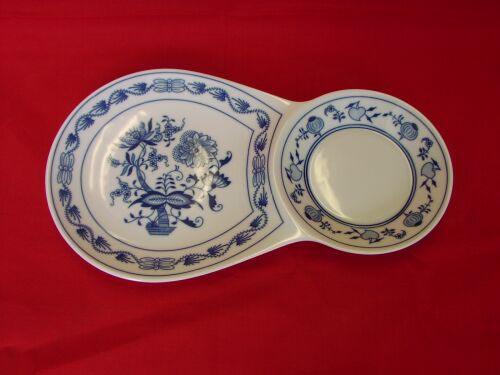 Zwiebelmuster Breakfast Tray, Original Bohemia Porcelain from Dubi
