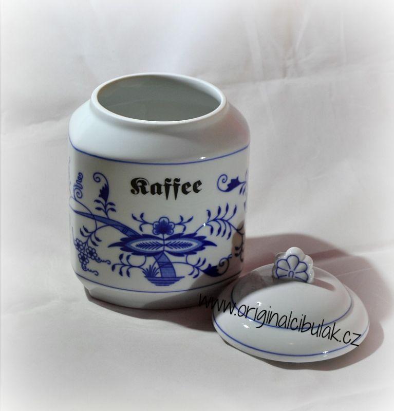 Zwiebelmuster Box for Foodstuff, Original Bohemia Porcelain from Dubi
