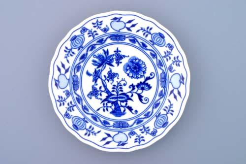 Zwiebelmuster Dessert Flat Plate 17cm, Original Bohemia Porcelain from Dubi