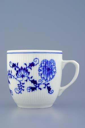 Zwiebelmuster Mug Martin 0.27L, Original Bohemia Porcelain from Dubi