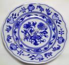Zwiebelmuster Dessert Flat Plate 13 cm, Original Bohemia Porcelain from Dubi