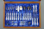 Zwiebelmuster Cutlery Luxury Set, Original Bohemia Porcelain from Dubi
