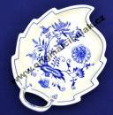 Zwiebelmuster Schüssel Blatt 19cm Original Bohemia Porzellan aus Dubi