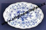 Zwiebelmuster Oval Dish 24cm, Original Bohemia Porcelain from Dubi