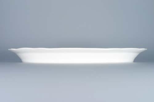 Zwiebelmuster Teller - geteilt 34,8cm Original Bohemia Porzellan aus Dubi