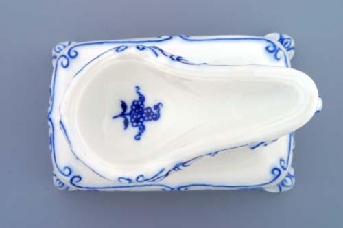 Zwiebelmuster Pfeifenständer 11cm Original Bohemia Porzellan aus Dubi