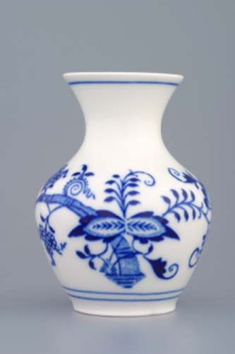 Zwiebelmuster Vase 2544/1 10cm Original Bohemia Porzellan aus Dubi
