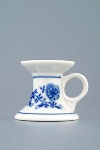 Zwiebelmuster Kerzenleuchter mini 4,5cm Original Bohemia Porzellan aus Dubi