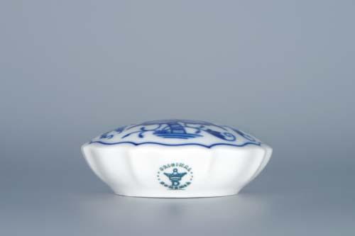 Zwiebelmuster Süßstoffdose Original Bohemia Porzellan aus Dubi
