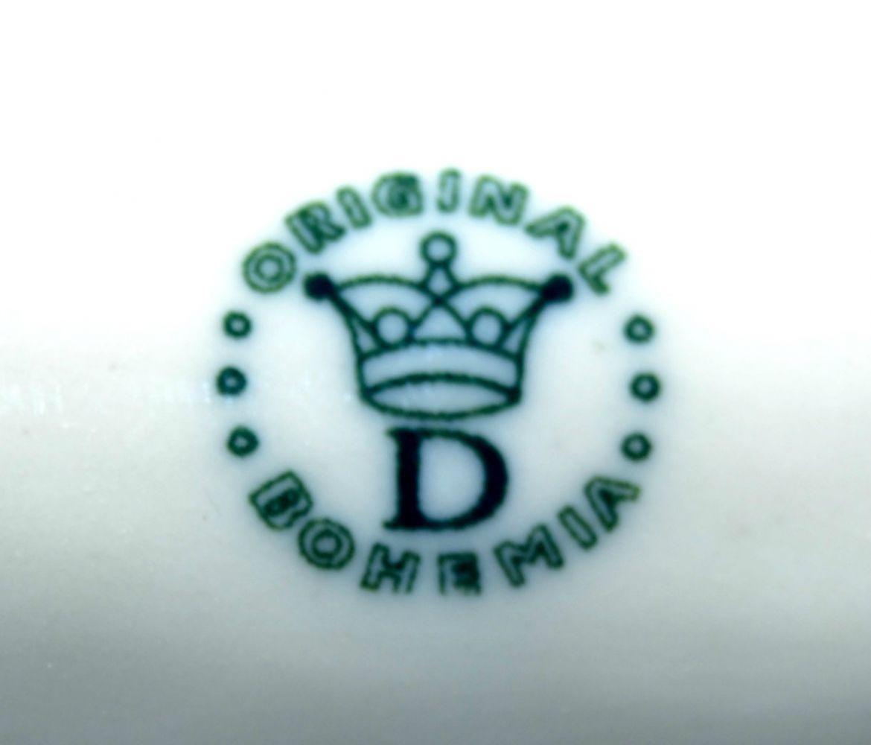 Zwiebelmuster Gießkanne mini 8,5cm Original Bohemia Porzellan aus Dubi
