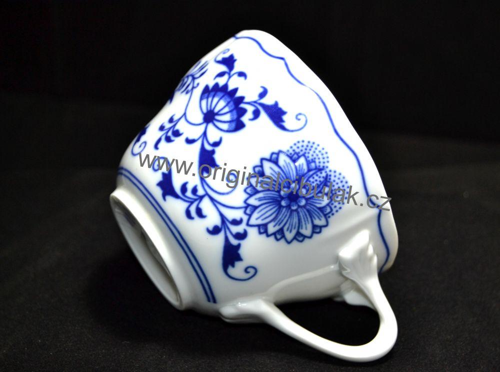 Zwiebelmuster Tasse C 0,25L Original Bohemia Porzellan aus Dubi