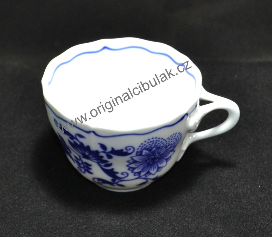 Zwiebelmuster Tasse A 0,08L Original Bohemia Porzellan aus Dubi