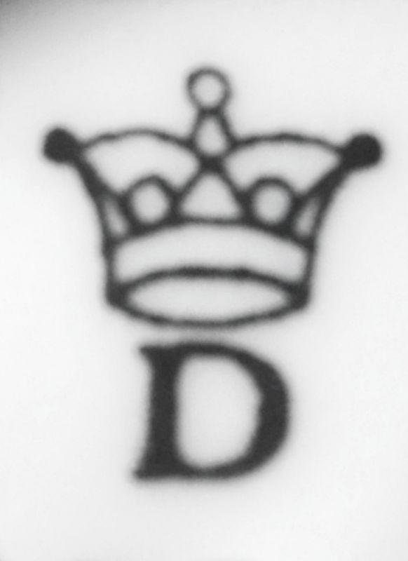 Zwiebelmuster Kalle zum Honig 14cm Original Bohemia Porzellan aus Dubi