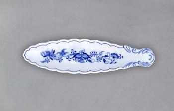 Zwiebelmuster Schussel auf Oliven 21,7cm Original Bohemia Porzellan aus Dubi