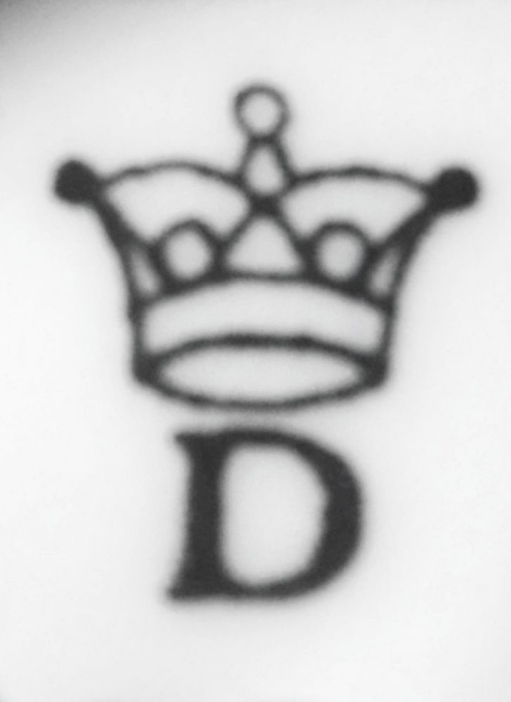 Zwiebelmuster Magnet Hase 7cm Original bohemia Porzellan aus Dubi