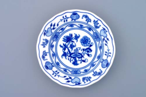 blau Zwiebelmuster Brotteller (Fahne) 15 cm