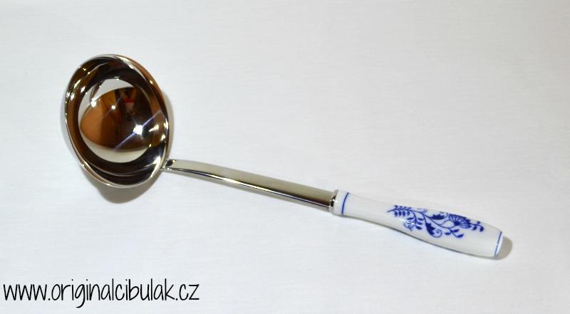 Zwiebelmuster Schaufel gross Original Bohemia Porzellan aus Dubi