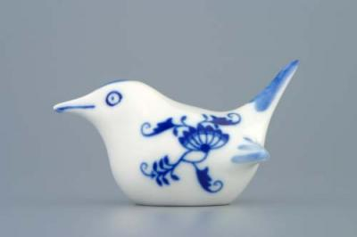Zwiebelmuster Bird small, Original Bohemia Porcelain from Dubi