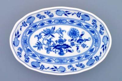 Zwiebelmuster Salad Dish 23cm, Original Bohemia Porcelain from Dubi