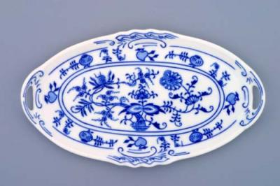 Zwiebelmuster Mini Tray for Liquor Set 21cm, Original Bohemia Porcelain fromDubi