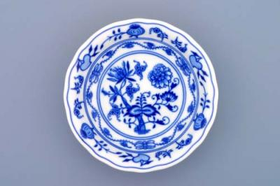 Zwiebelmuster Fruit Bowl 13cm, Original Bohemia Porcelain from Dubi