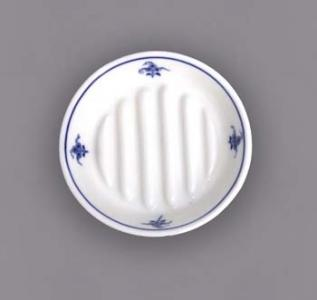Zwiebelmuster Soap Dish, Hygine Set, Original Bohemia Porcelain from Dubi