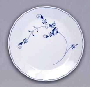 ECO Zwiebelmuster Club Plate 30cm, Bohemia Porcelain from Dubi