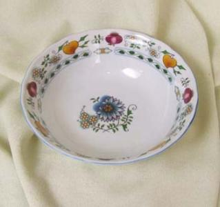 Nature Zwiebelmuster Fruit Bowl 21cm, NATURE Bohemia Porcelain from Dubi